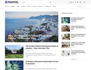 truffol.com screenshot