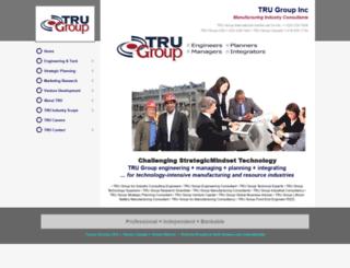 trugroup.com screenshot