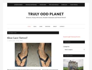 trulyoddplanet.com screenshot