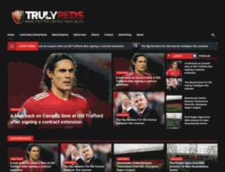 trulyreds.com screenshot