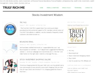 trulyrichme.com screenshot
