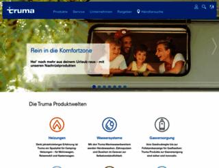 truma.com screenshot