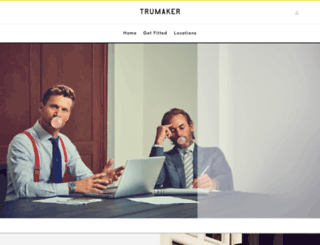 trumaker.com screenshot