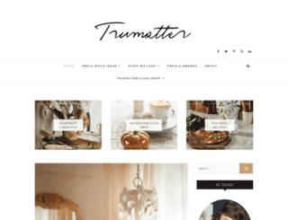 trumatter.in screenshot