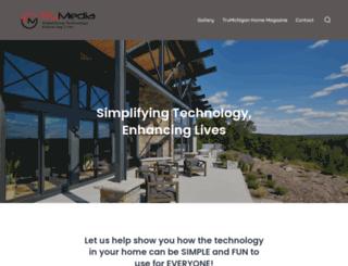 trumediahome.com screenshot