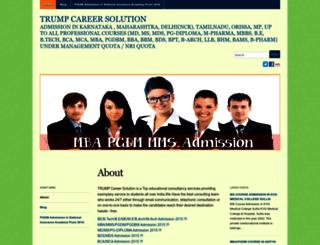 trumpcareersolution.wordpress.com screenshot