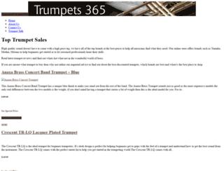 trumpets365.com screenshot