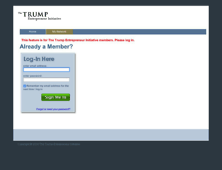 trumpuniversity.com screenshot