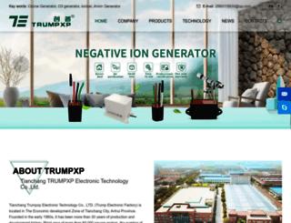 trumpxp.com screenshot