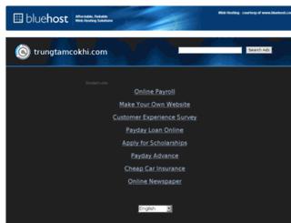 trungtamcokhi.com screenshot