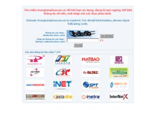 trungtamphuocan.vn screenshot