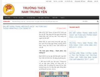 truong-thcs-nam-trung-yen.caugiay.edu.vn screenshot