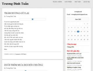 truonghuynh.vnweblogs.com screenshot