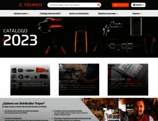 truper.com screenshot
