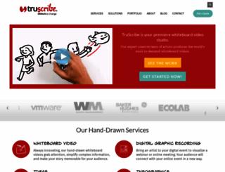 truscribe.com screenshot