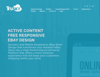 trusky.com screenshot