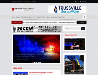 trussvilletribune.com screenshot