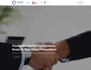 trust.co.id screenshot