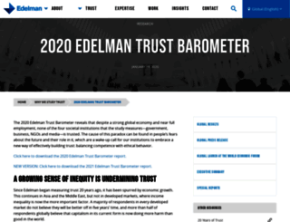 trust.edelman.com screenshot