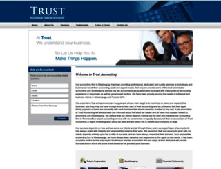 trustaccounting.ca screenshot