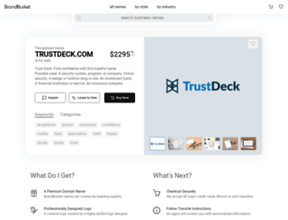 trustdeck.com screenshot