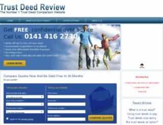 trustdeedreview.co.uk screenshot