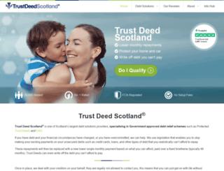 trustdeedscotland.net screenshot