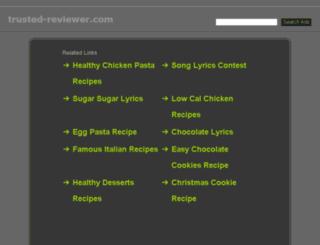 trusted-reviewer.com screenshot