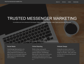 trustedmessengermarketing.com screenshot