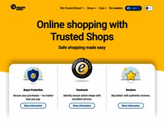 trustedshops.co.uk screenshot