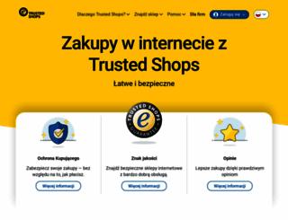 trustedshops.pl screenshot