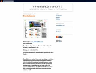 trustedtablets.blogspot.com screenshot