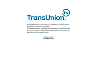 trustev.com screenshot