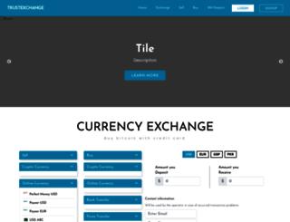 trustexchanger.com screenshot