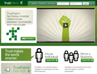 trustfabric.com screenshot