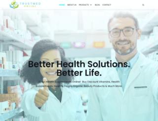 trustmedonline.com screenshot