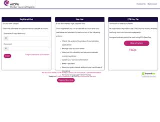 trustmyaccount.cpai.com screenshot