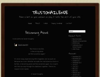 trustonailende.wordpress.com screenshot