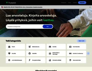 trustpilot.fi screenshot