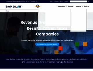 trustpointtx.sandler.com screenshot