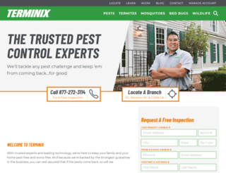 trustterminix.com screenshot