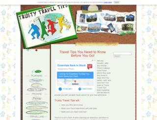 trusty-travel-tips.com screenshot