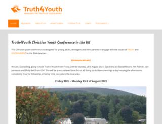 truth4youth.co.uk screenshot