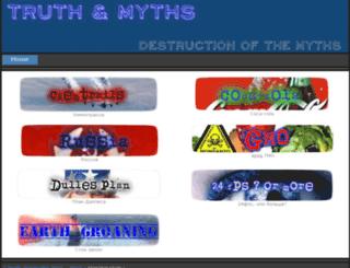 truthandmyths.weebly.com screenshot