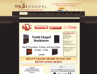 truthchapel.org screenshot