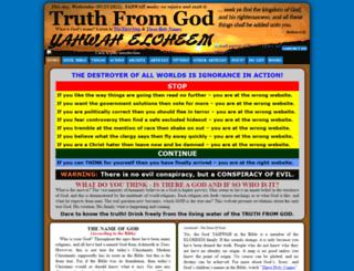 truthfromgod.com screenshot