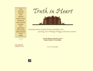 truthinheart.com screenshot