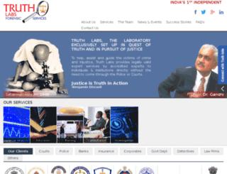 truthlabs.org screenshot