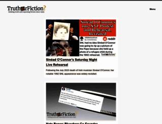 truthorfiction.com screenshot