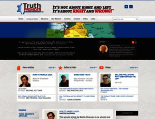 truthprovider.com screenshot